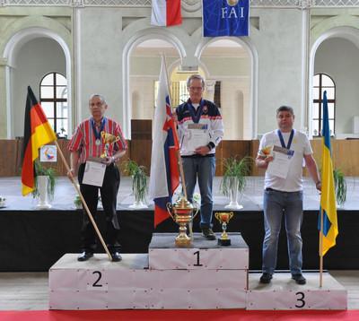 Lutz Schramm ist Saalflug Vize-Europameister