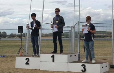 Bronze, Silber und Gold für F3CN Team Germany